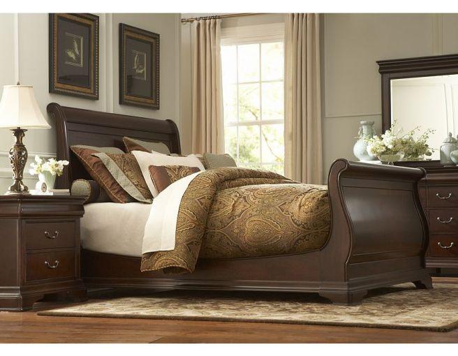 Orleans Queen Sleigh Bed