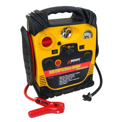 Wagan 500-Amp Battery Jumper with Air Compressor, $99.99 at Target