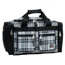 Rockland Duffle Bag - Black, $16.99 at Target. I will use the duffel bag(s) for the emergency car kit and survival kit.
