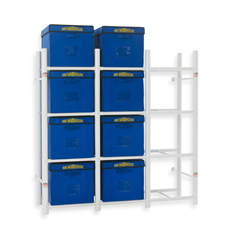File Storage Bin Warehouse System, Bed Bath and Beyond $69.99