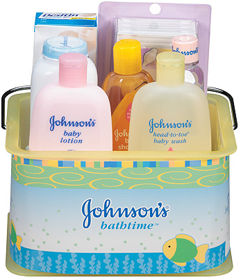 Johnson and Johnson Gift Basket, Babies R Us