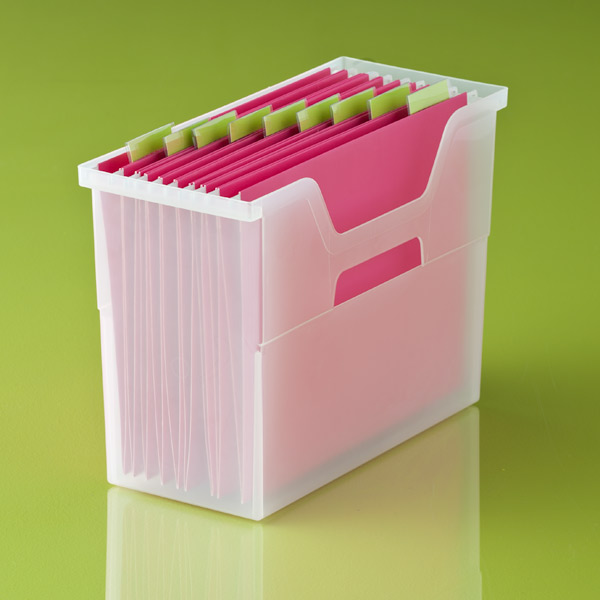 Open-Top File Boxes, Container Store $6.99