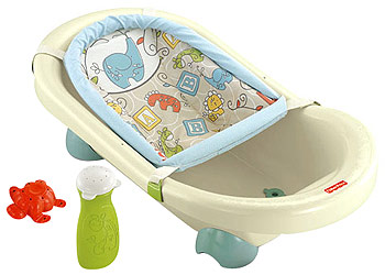 Fisher-Price Animal Krackers Rinsin' Fun Tub, Babies R Us