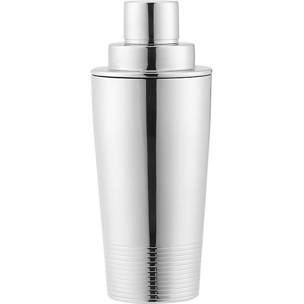 Stainless Steel Cocktail Shaker, Crate and Barrel